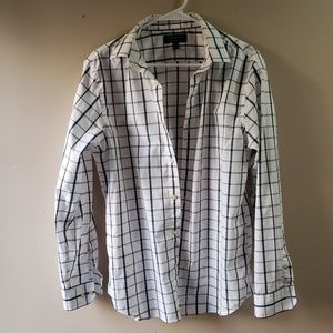 Mens Banana Republic Button Up